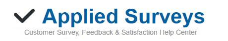 ✔ Applied Surveys