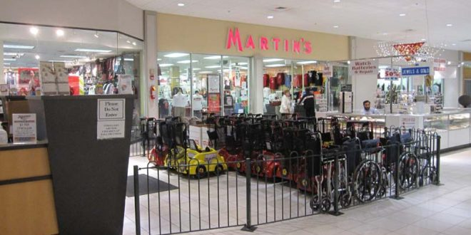 Martins clothing store